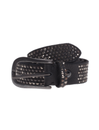 B.Belt Leather Stud Black