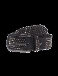 B.Belt Leather Stud Black