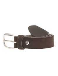 B.Belt Clean Suede Brown