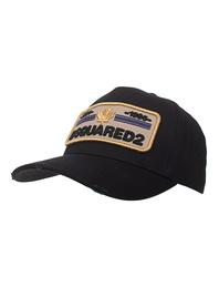 DSQUARED2 Script Gold Logo Black
