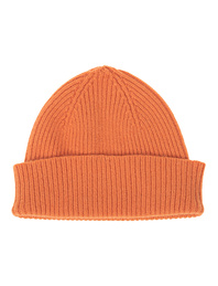 LE BONNET Clean Knit Flame Orange