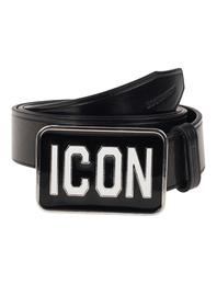 DSQUARED2 ICON Leather Black