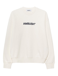 AMBUSH Regular Fit Crew Off White
