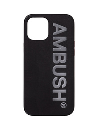 AMBUSH IPHONE 12 MAX M LOGO Black