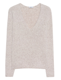 CLOSED V-Neck Alpaca Beige