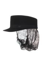 Maison Michel X Karl Lagerfeld Cara Black