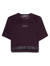 ADIDAS BY STELLA MCCARTNEY Ess Crop Tee Burgundy