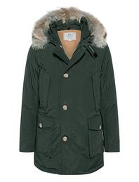 WOOLRICH Arctic Detachable Fur Darkgreen