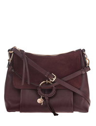 SEE BY CHLOÉ Velours Bag Bordeaux