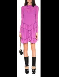 SEE BY CHLOÉ Ruffles Dress Purple