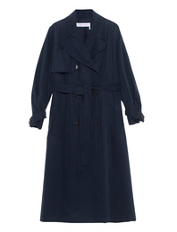 SEE BY CHLOÉ Trench Ink Navy