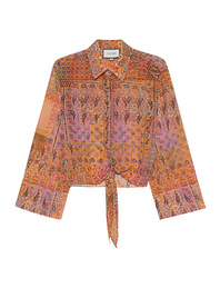 ALEXIS Clove Sunset Paisley Multicolor