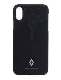 Marcelo Burlon Neon Wings iPhone X Black