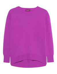 JADICTED Crew Neck Purple