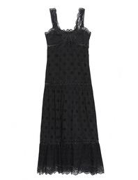JADICTED Long Crochet Black