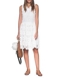 JADICTED Lace Dress White