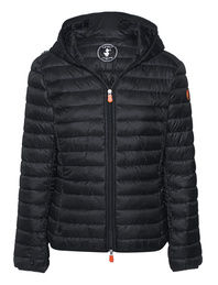 SAVE THE DUCK Light Quilted Hood Black