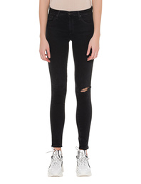 AG Jeans Legging Ankle Destroyed Black
