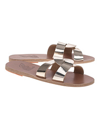 Ancient Greek Sandals Mirror Platinum