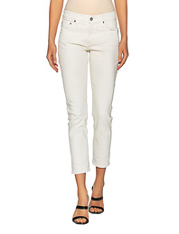 AG Jeans Ex Boyfriend Slim Off White