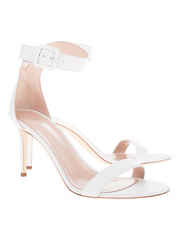 GIUSEPPE ZANOTTI Leather Heel White