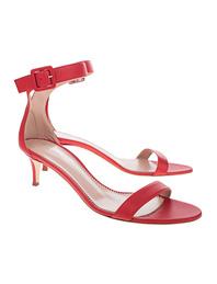 GIUSEPPE ZANOTTI Heel Strap Red