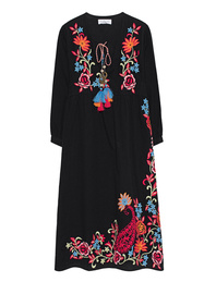 VELVET BY GRAHAM & SPENCER Embroidery Tassel Black
