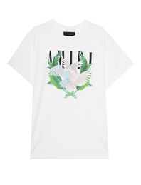 Amiri Lovebirds Print White