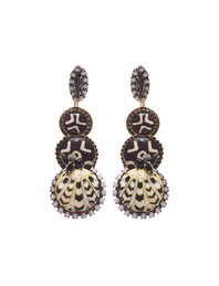 ERICKSON BEAMON Shadow Ear Ethno Black White