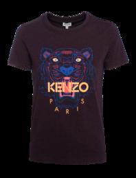 KENZO Iconic Tiger Short Bordeaux
