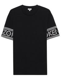 KENZO Script Sleeve Black
