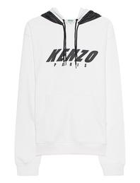 KENZO Label Nylon White