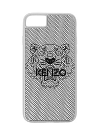 KENZO iPhone 7/8 Carbon Fiber Silver