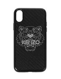 KENZO iPhone X Carbon Fiber Black