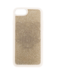 KENZO Case iPhone 8 Tiger Head Gold
