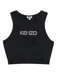 KENZO Crop Brassiere Sport Black