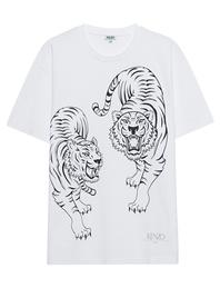 KENZO Double Tiger White