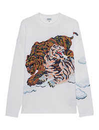KENZO Tiger Cloud Off-White