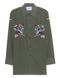 FORTE COUTURE Eagle Embroidery Military