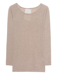 FRIENDLY HUNTING Raglan Crew Neck Roll Beige Melange