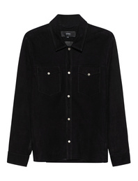 ARMA Suede Shirt Black