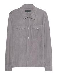 ARMA Suede Shirt Grey