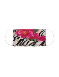 JADICTED Face Mask Silk Zebra
