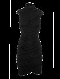 Pierre Balmain  Wrap Drape Black