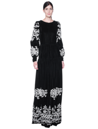BLACK CORAL Long Silvy Allure Black