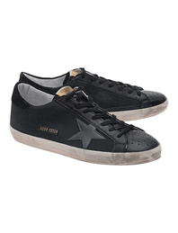 GOLDEN GOOSE Superstar Black Cord