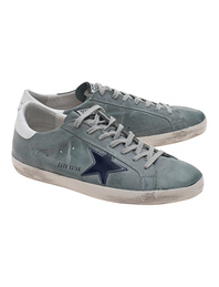 GOLDEN GOOSE Superstar Sage Green
