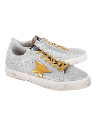GOLDEN GOOSE Superstar Silver Mat