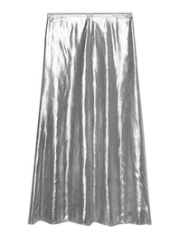 GOLDEN GOOSE Slip Skirt Silver