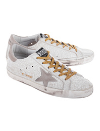 GOLDEN GOOSE DELUXE BRAND Superstar White Crash